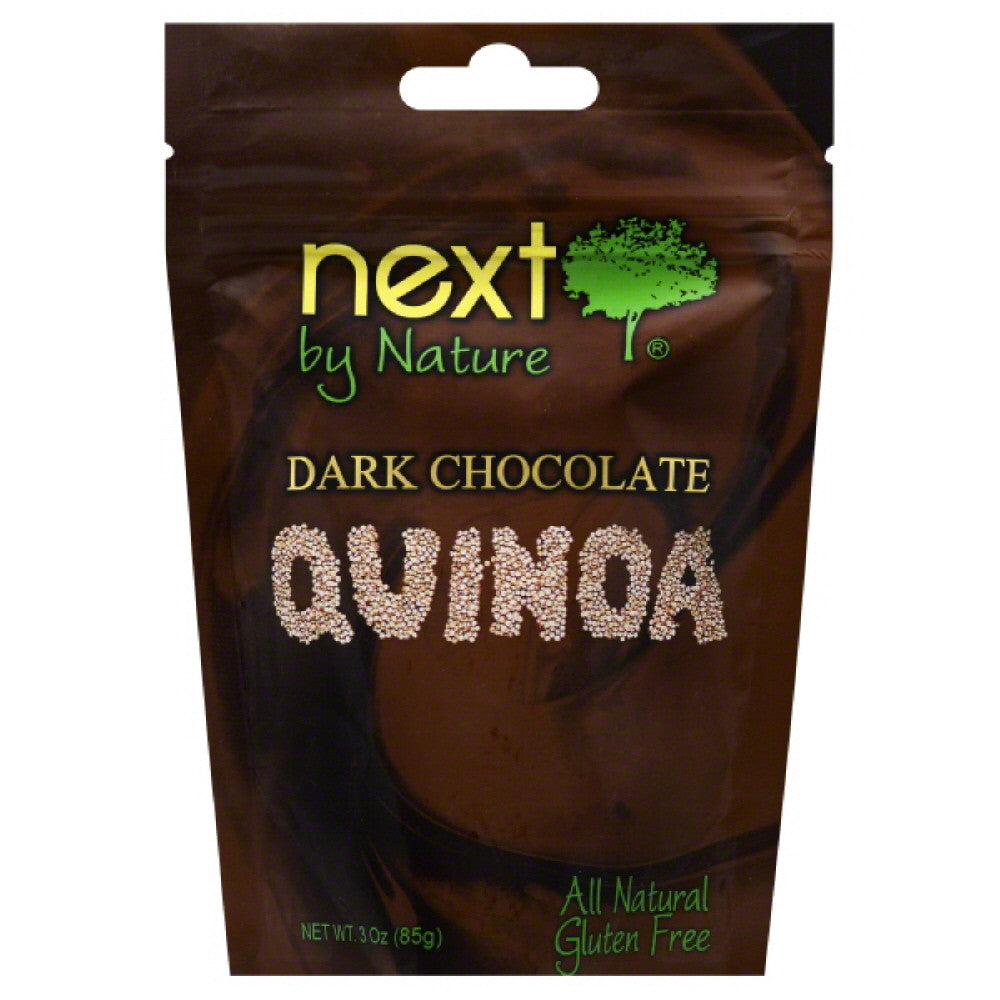 Next by Nature Dark Chocolate Quinoa, 3 Oz (Pack of 6)