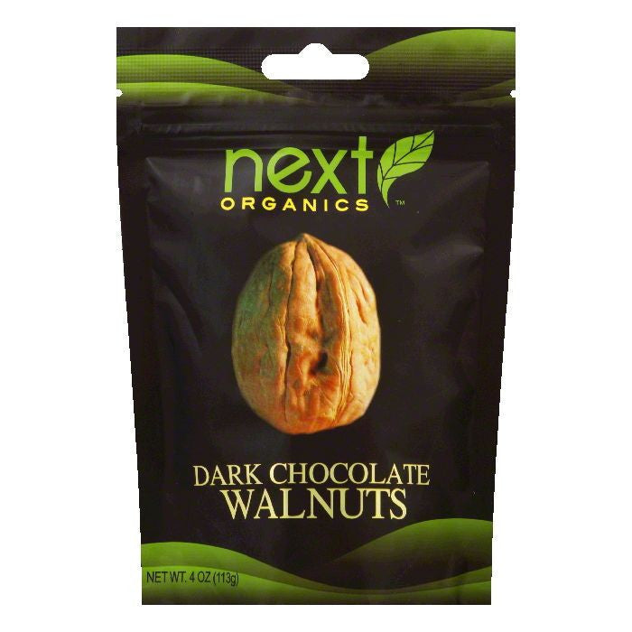 Next Organics Walnut chocolate drk org, 4 OZ  ( Pack of  6)
