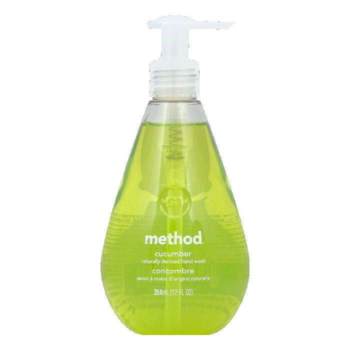 Method Cucumber Hand Wash, 12 OZ (Pack of 6)