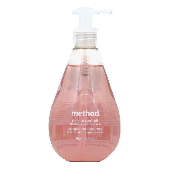 Method Pink Grapefruit Hand Wash, 12 OZ (Pack of 6)
