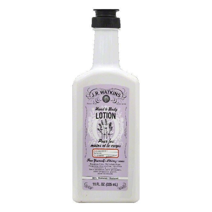 JR Watkins Lavender Hand & Body Lotion, 11 OZ