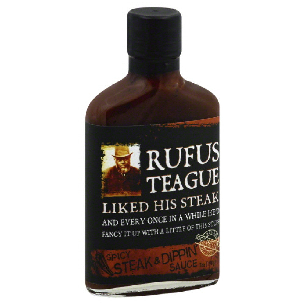 Rufus Teague Spicy Steak & Dippin' Sauce, 7 Oz (Pack of 6)