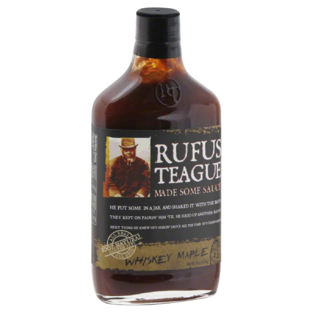 Rufus Teague Whiskey Maple Sauce, 16 Oz (Pack of 6)