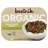 Beetnik Organic Grass Fed Beef Kheema, 11 Oz (Pack of 8)