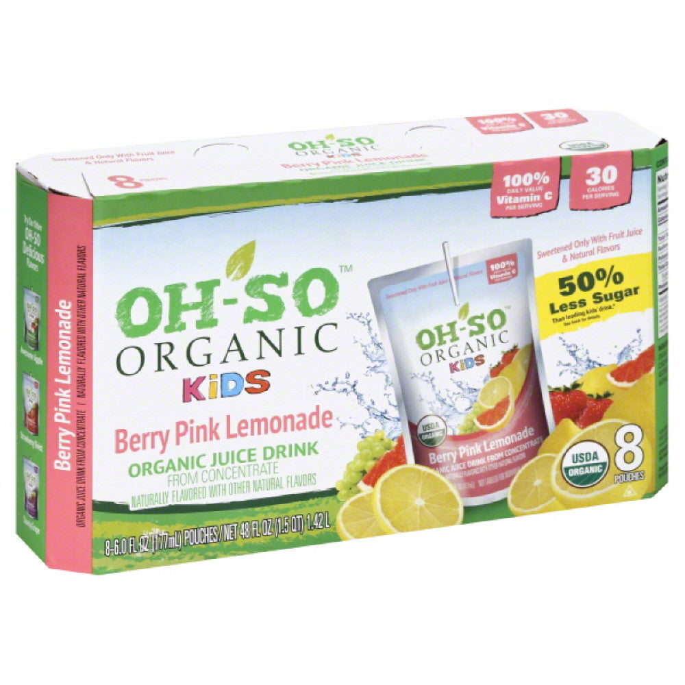 Oh So Berry Pink Lemonade Juice Drink, 48 Fo (Pack of 5)