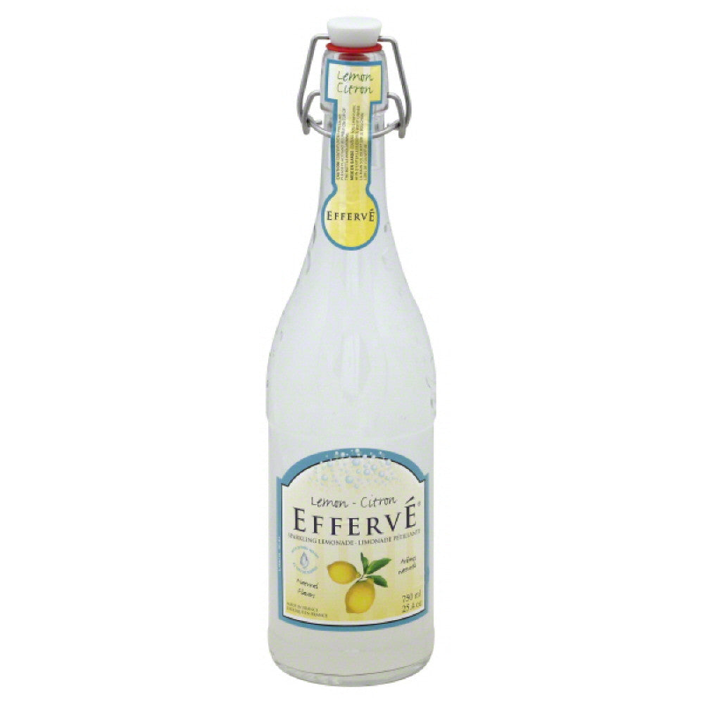 Efferve Sparkling Lemonade, 25.4 Oz (Pack of 12)