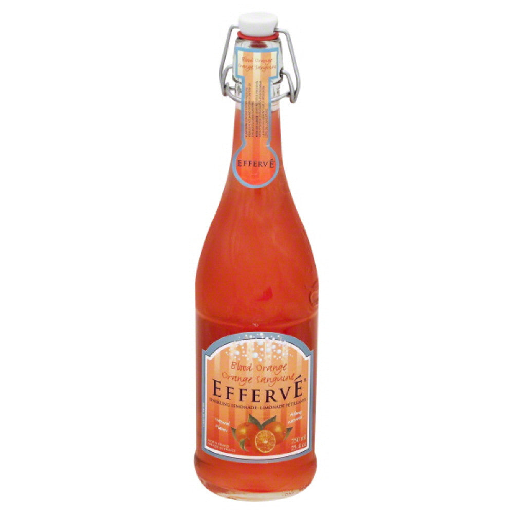 Efferve Blood Orange Sparkling Lemonade, 25.4 Oz (Pack of 12)