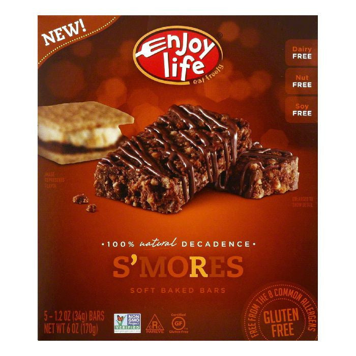 Enjoy Life Bar Smores, 6 OZ (Pack of 6)
