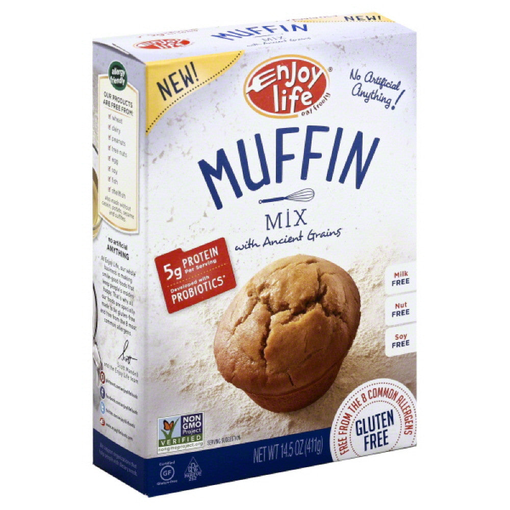 Enjoy Life Muffin Mix, 14.5 Oz (Pack of 6)