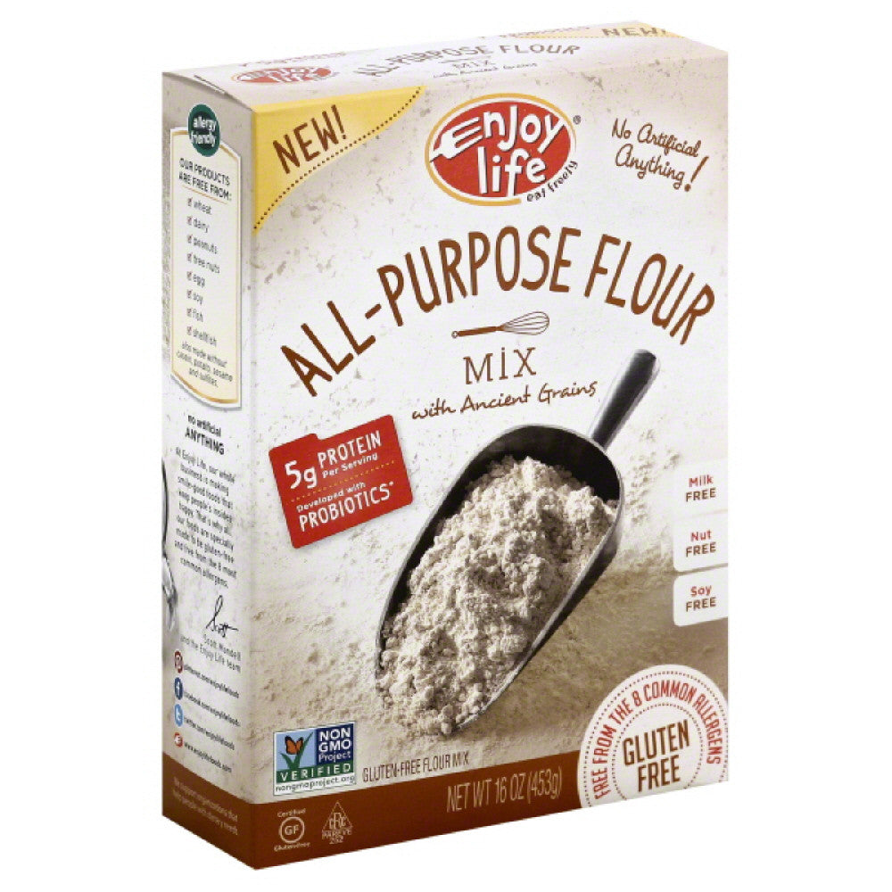 Enjoy Life All-Purpose Flour Mix, 16 Oz (Pack of 6)