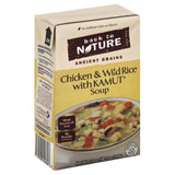 Back To Nature Chicken & Wild Rice with Kamut Soup, 17.4 Oz (Pack of 6)