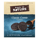 Back To Nature Classic Creme Cookies, 12 OZ (Pack of 6)