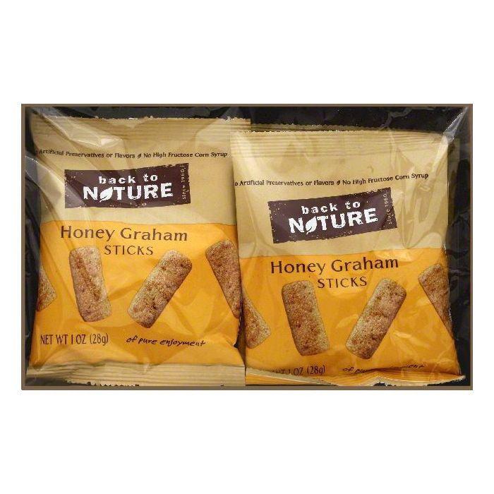 Back To Nature Honey Graham Sticks, 8 ea (Pack of 4)