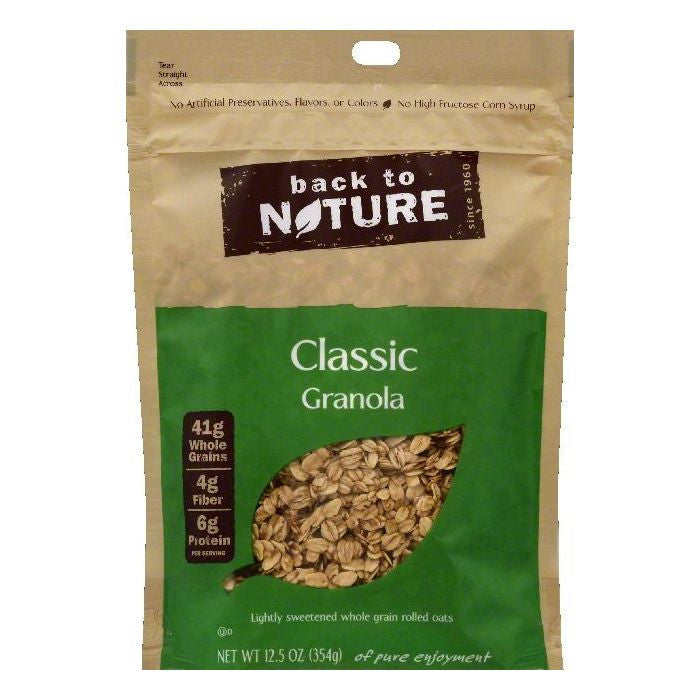 Back To Nature Classic Granola, 12.5 OZ (Pack of 6)