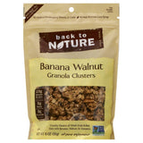 Back To Nature Banana Walnut Clusters Granola, 11 Oz (Pack of 6)