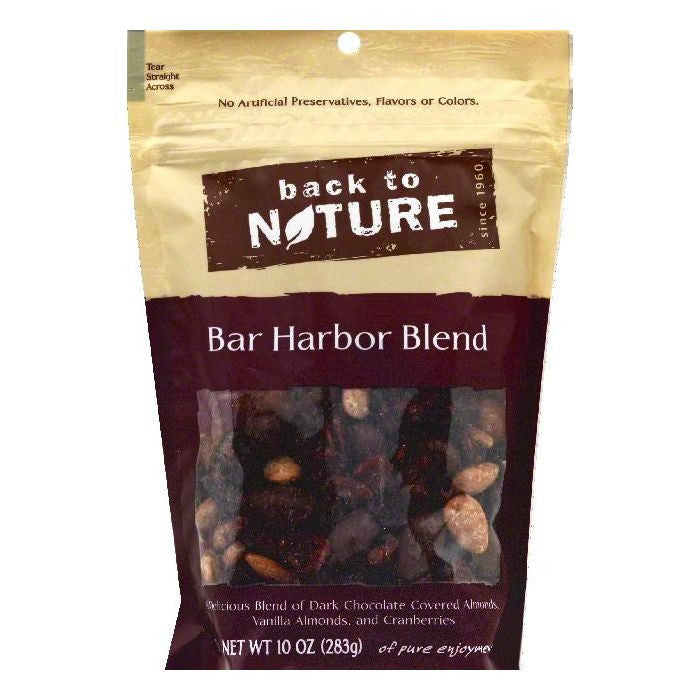 Back To Nature Bar Harbor Blend, 10 OZ (Pack of 9)