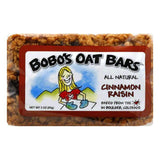 Bobos Oat Bars Cinnamon Raisin Oat Bar, 3 OZ (Pack of 12)