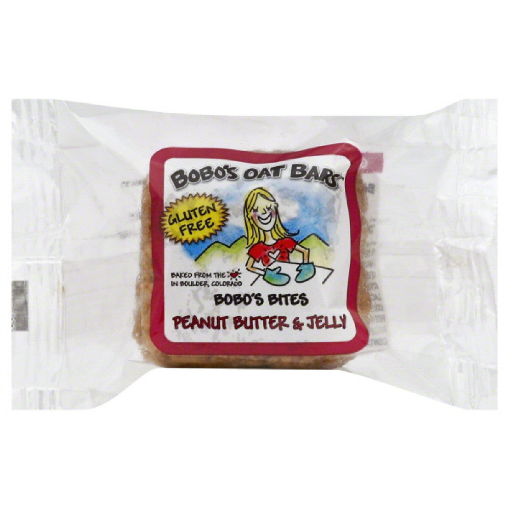 Bobos Peanut Butter & Jelly Bobo's Bites, 1.3 Oz (Pack of 24)