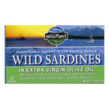 Wild Planet Extra Virgin Olive Oil Sardines, 4.375 OZ (Pack of 12)