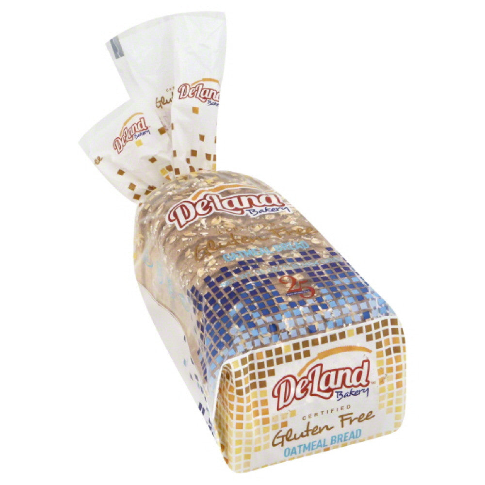 DeLand Bakery Oatmeal Bread, 1 Lb (Pack of 6)