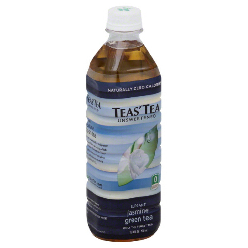 Teas Tea Unsweetened Elegant Jasmine Green Tea, 16.9 Fo (Pack of 12)
