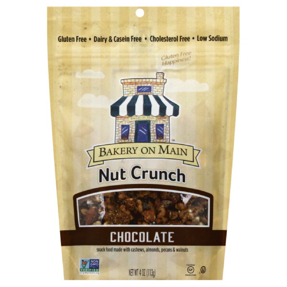 Bakery On Main Chocolate Nut Crunch, 4 Oz (Pack of 6)