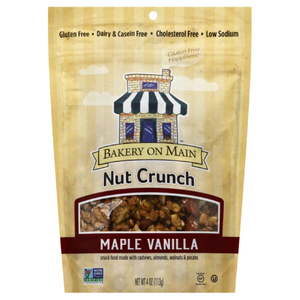 Bakery On Main Maple Crunch Nut Crunch, 4 Oz (Pack of 6)
