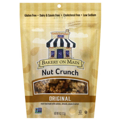 Bakery On Main Original Nut Crunch, 4 Oz (Pack of 6)