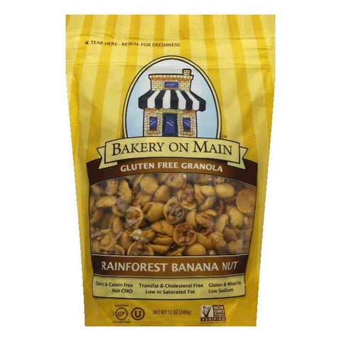 Bakery on Main Gluten Free Rainforest Granola, 12 OZ (Pack of 6)