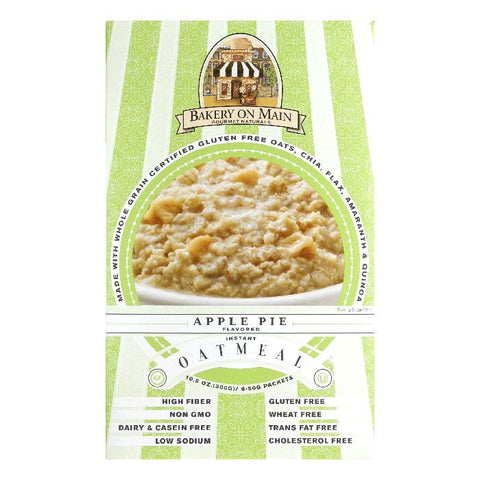 Bakery on Main Apple Pie Instant Oatmeal, 10.56 Oz (Pack of 6)