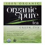 Organic & Pure Bags Organic Green Tea, 40 ea (Pack of 6)