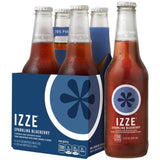 IZZE Sparkling Blueberry Juice 4-12 fl. Oz s (Pack of 6)