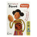 Tolerant Organic Red Lentil Penne, 8 OZ (Pack of 6)