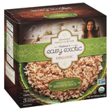 Padmas Easy Exotic Organic Whole Grain Microwaveable Pouches Brown Rice, 30 Oz (Pack of 6)