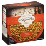 Padmas Easy Exotic Microwaveable Pouches Curried Lentils, 20 Oz (Pack of 8)