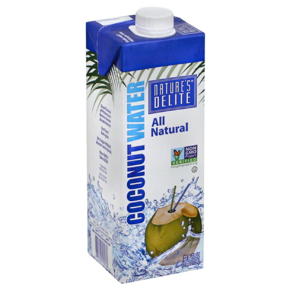 Natures Delite Coconut Water, 1000 Ml (Pack of 6)