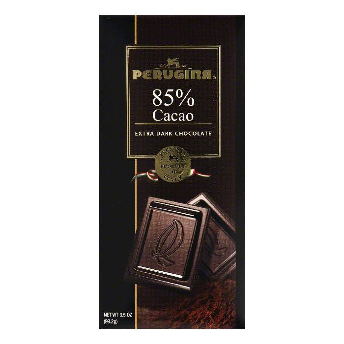 Perugina 85% Cacao Extra Dark Chocolate, 3.5 Oz (Pack of 12)