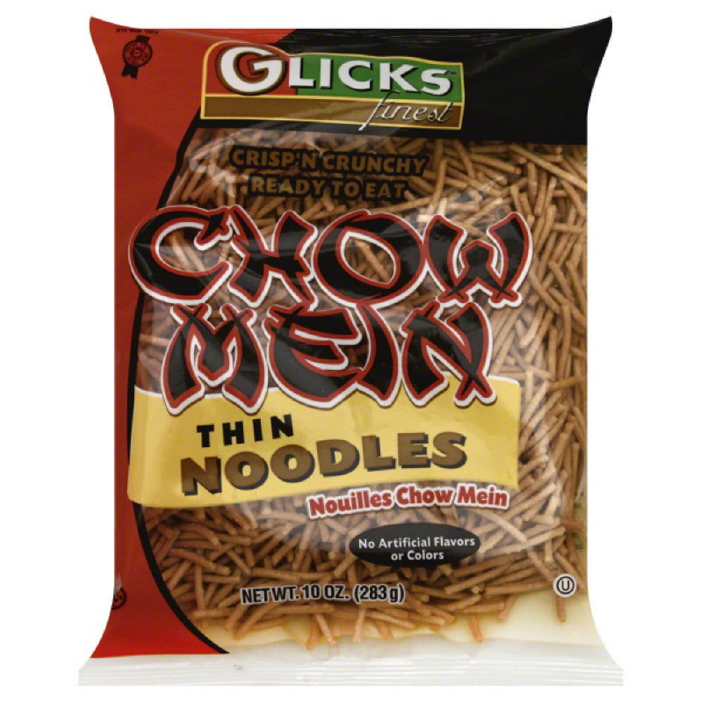 Glicks Chow Mein Thin Noodles, 10 Oz  ( Pack of  6)