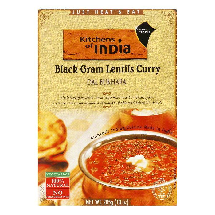 Kitchens Of India Dal Bukhara, 10 OZ (Pack of 6)