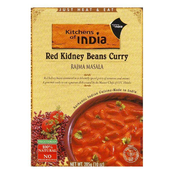 Kitchens Of India Rajma Masala, 10 OZ (Pack of 6)