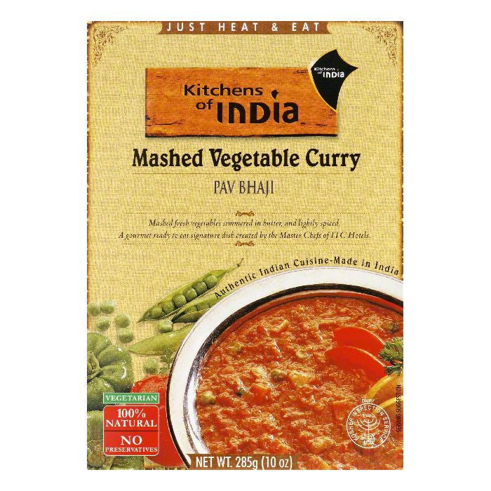 Kitchens Of India Pav Bhaj, 10 OZ (Pack of 6)