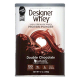 Designer Whey Double Chocolate, 12 OZ