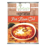 Carolines Vegetarian Five Bean Chili, 20 OZ (Pack of 12)