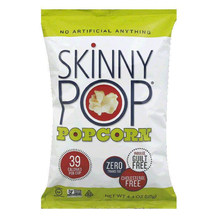 Skinny Pop Natural Popcorn, 4.4 OZ (Pack of 12)