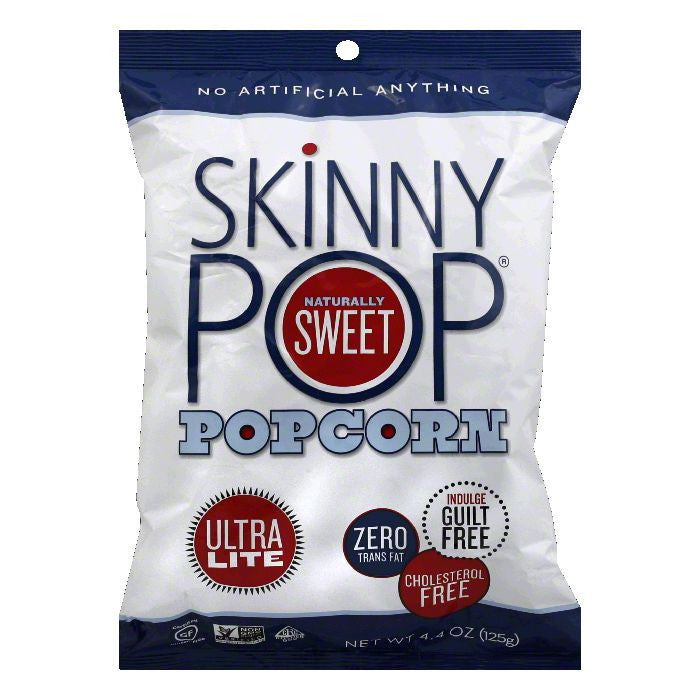 SkinnyPop Ultra Lite Popcorn, 4.4 Oz (Pack of 12)