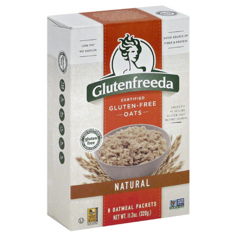 Glutenfreeda Natural Oatmeal, 11.2 Oz (Pack of 8)