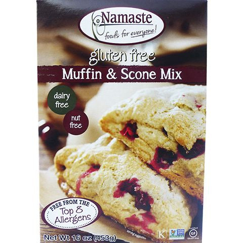 Namaste Foods Muffin Mix, 16 OZ (Pack of 6)