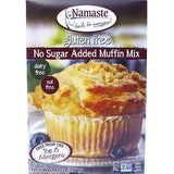 Namaste Foods Gluten Free No Sugar Added Muffin Mix, 14 OZ (Pack of 6)