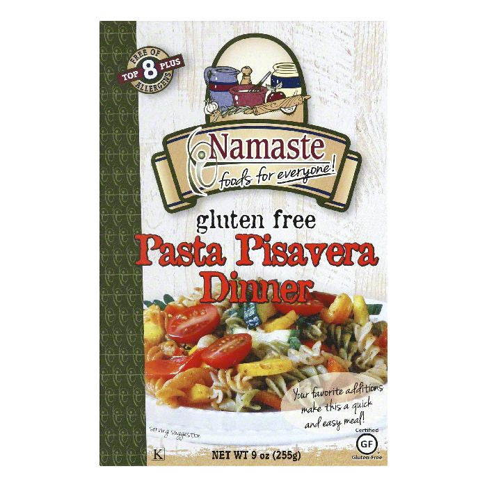Namaste Foods Pasta Pisavera Pasta Meal, 9 OZ (Pack of 6)