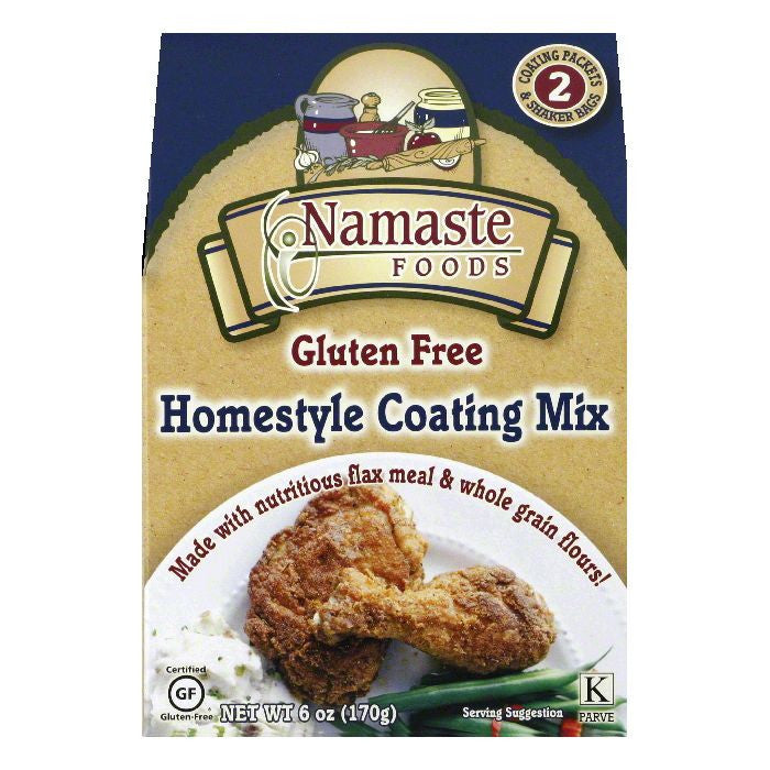 Namaste Foods Homestyle Coating Mix, 6 Oz (Pack of 6)